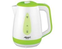 Чайник Atlanta ATH-2376 2000Вт. 1.7л. пластик, дисковый, Green