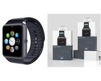 Часы Smart EZRA SW06 слот для SIM, TF, Bluetooth, шагомер, счетчик калорий...., черный