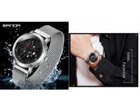 Часы наручные Sanda P1009 женские, стрелочные, сталь