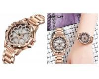 Часы наручные Sanda P259 женские, стрелочные, сталь