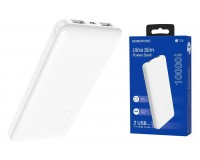 Портативное зарядное устройство Borofone BT28 10000 мАч 1USB выход 5В/2А, 2USB выход 5В/2А, суммарный 5В/2А, белый