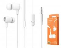 Наушники с микрофоном Borofone BM43 Remy вкладыши, кабель 1, 2м, коробка, белый