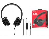 Наушники с микрофоном Borofone BO5 Star sound накладные, кабель 1, 2м, коробка, черный