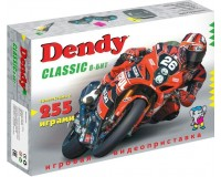Приставка 8-bit Dendy Classic (255 встроенных игр) 2 джойстика 9-pin