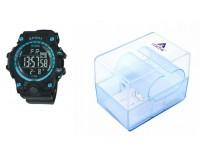Часы наручные iTaiTek IT-359 электронные (дата, будильник, секундомер, таймер), пластик, подсветка, синий