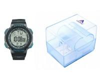 Часы наручные iTaiTek IT-381 электронные (дата, будильник, секундомер, таймер), пластик, подсветка, синий