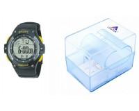Часы наручные iTaiTek IT-383 электронные (дата, будильник, секундомер, таймер), пластик, подсветка, желтый