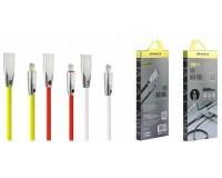 Кабель iPhone 5 Awei длина 1м, допустимый ток до 2А, коробка, цветной (CL-95)