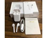 Наушники беспроводные - I9XS-TWS вкладыши, Bluetooth, беспроводные, пенал для зарядки, силиконовый чехол, аккумулятор 40 мАч белый