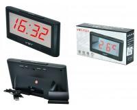 Часы сетевые VST 731Y-1 красные цифры, без блока питания