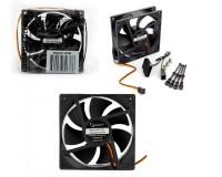 Вентилятор для корпуса Gembird S9225H-3P4M 92x92x25мм, 3pin/4pin Molex, провод 30 см, гидродинамический подшипник, тихий