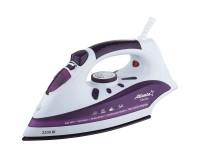 Утюг Atlanta ATH-5541 2200Вт, тефлон, разбрызгивание, вертикальный пар, антикапля, фиолетовый