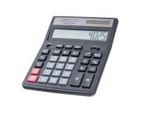 Калькулятор Perfeo PF-A4025 бухгалтерский, 12 разрядный, размер 15, 8х20, 0х3, 5 см, черный