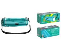 Акустическая система mini MP3 Borofone BR7 Empyreal 5Вт Bluetooth 5.0, MP3, microSD, USB, 1200 мАч бирюза