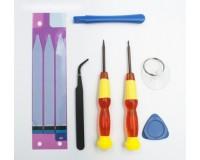 Набор инструментов Baseus Disassembly tool IPhone 7 Plus красный, набор из 3 штук