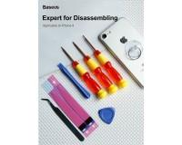 Набор инструментов Baseus Disassembly tool IPhone 8 красный, набор из 3 штук