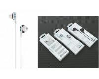 Наушники с микрофоном EZRA EP27 внутриканальные, кабель 1, 2м, коробка, белые