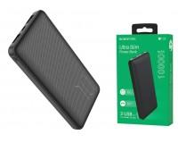 Портативное зарядное устройство Borofone BT28 10000 мАч 1USB выход 5В/2А, 2USB выход 5В/2А, суммарный 5В/2А, черный