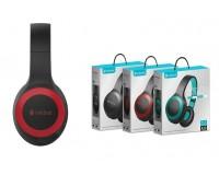 Наушники беспроводные Celebrat A23 полноразмерные, Bluetooth, коробка, красные