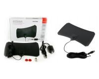 Антенна TV SmartBuy SB-DA-T2-W68AMPL Ультра активная, с внешним усилителем до 35 дб (питание от USB), DVB-T2, кабель 3 м