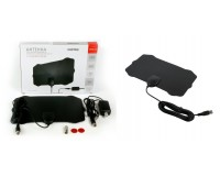 Антенна TV SmartBuy SB-DA-T2-W88AMPL Щит активная, с внешним усилителем до 35 дб (питание от USB), DVB-T2, кабель 3 м