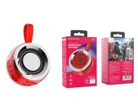 Акустическая система mini MP3 Borofone BR2 Aurora 5Вт Bluetooth 5.0, MP3, microSD, USB, 500 мАч красный