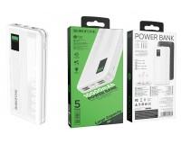Портативное зарядное устройство Borofone BT32 Precious 10000 мАч 1USB выход 5В/2А, 2USB выход 5В/2А, суммарный 5В/2А, белый