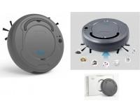 Пылесос Bowai OB8 робот-пылесос, пылесборник 400мл, сухая/влажная, аккум. 1200 мА, серый