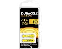 Батарейка. Duracell ZA10 BL 6 (для слуховых аппаратов) ActiveAir Nugget Box