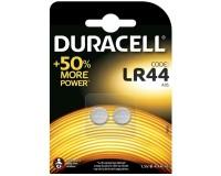 Батарейка. Duracell LR44/G13 (76A) BL 2