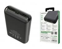 Портативное зарядное устройство Borofone BT27A Sea power 20000 мАч 1USB выход 5В/2А, 2USB выход 5В/2А, суммарный 5В/2А, черный