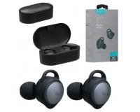Наушники беспроводные Celebrat FLY-4 внутриканальные, Bluetooth V5.0 кейс для хранения и зарядки в комплекте (емкостью 500 мАч) черные коробка