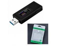 USB тестер Keweisi KWS-MX19 измерение тока, напряжения, энергии, сопротивления, QC2.0, QC3.0, черный