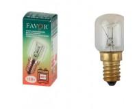 Лампа FAVOR РН 230-15 Т25 Е14 15Вт E14 для печей