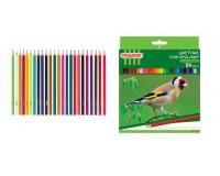 Карандаши цветные Пифагор 181336