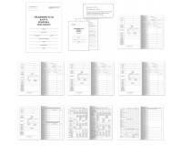 Бланк медицинский STAFF 130210 формат А4(198х278 мм), 16 листов, Медицинская карта ребенка Форма № 026/у-2000, обложка - мелованный картон, офсет