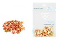 Пуговицы декоративные Белоснежка 895-DB Звезды в комплекте: 50 шт. размер 1, 8 см. материал: дерево, цвет: цветные