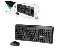 Беспроводной набор SmartBuy SBC-639391AG-K USB Black 13 клавиш управления мультимедиа, встроенная подставка для телефона