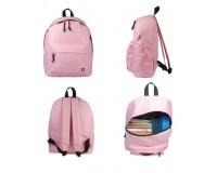 Рюкзак BRAUBERG универсальный, сити-формат, 227051 20 литров, 38х28х12 см, кол-во отделений: 1, кол-во карманов: 1, фронтальный карман, полиэстр, розовый