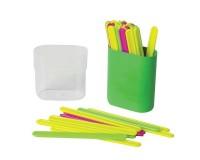 Счетные палочки Пифагор 104752 многоцветные 30шт., размер - 75х43х21 мм, в пластиковом пенале