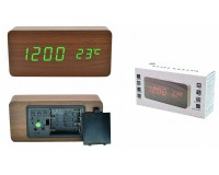 Часы Орбита OT-CLT04 будильник, дата, температура, кабель USB питания