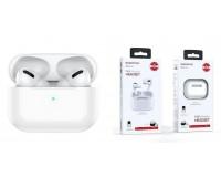 Наушники беспроводные Borofone BE38 внутриканальные, Bluetooth V5, 0, кейс для хранения и зарядки в комплекте белый, коробка