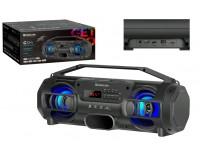 Акустическая система mini MP3 Defender G104 12Вт BT/FM/TF/USB/TWS питание USB 5 В , Li-Ion 1500 мАч, возможность сопряжения двух отдельных колонок по Bluetooth в акустическую 2.0 систему, черный