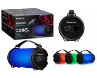 Акустическая система mini MP3 Defender Reactor 8Вт BT/FM/TF/USB/AUX питание USB 5 В , Li-Ion 1800 мАч, AUX-аудиовход
