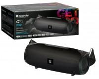 Акустическая система mini MP3 Defender G22 20Вт BT/FM/TF/USB/AUX/TWS питание USB 5 В , Li-Ion 3000 мАч, возможность сопряжения двух отдельных колонок по Bluetooth в акустическую 2.0 систему, AUX-аудиовход