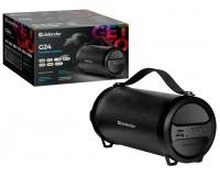 Акустическая система mini MP3 Defender G24 20Вт BT/FM/TF/USB/AUX питание USB 5 В , Li-Ion 1500 мАч, AUX-аудиовход