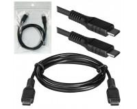Кабель Type-C Defender длина 1.0м, USB2.0, 3, 0А, пакет, черный (USB99-03H)
