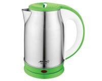 Чайник Atlanta ATH-2439 1800Вт. 1, 8л. металл, дисковый, Green
