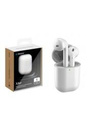 Наушники беспроводные Deppa 44164 XAir вкладыши, Bluetooth V5.0 кейс для хранения и зарядки в комплекте (емкостью 250мАч) белый коробка