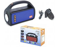 Приемник Fepe FP-03-W аккумуляторный, USB/microSD до 32Гб, Bluetooth, питание: аккумулятор 2*18650 (1200mA) - в комплекте, шнур ЗУ в комплекте, беспроводная зарядка